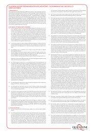 allgemeine geschäftsbedingungen für quickline ... - GA Weissenstein