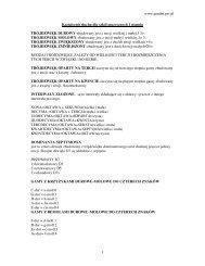 www.pandm.prv.pl 1 Kształcenie słuchu dla szkół muzycznych I ...