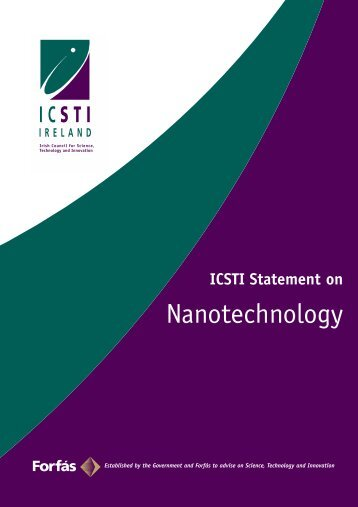 ICSTI Statement on Nanotechnology - Forfás