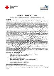 Muster Freiwilligen-Vereinbarung - Freiwilliges Soziales Jahr beim ...