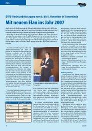 Mit neuem Elan ins Jahr 2007 - Flüssiggas-Magazin