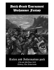 Rulespack ter aanpassing version 23 april - Games Workshop