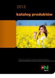 katalog produktów - FiN Agro Polska