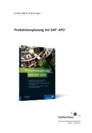 Produktionsplanung mit SAP APO (PDF) - Galileo Computing