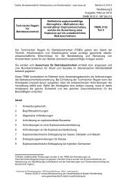 TRBS 2152 Teil 4 - Gewerbeaufsicht - Baden-Württemberg