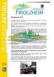 Blättle KW 19 - Friolzheim