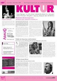 Vielfalt der Sprachen und Erlebnisse Musikalische ...
