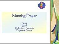 Sabbath Prayer.pdf - Flocknote
