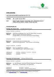 Einladung zum Seminar - Landesinnungsverband Fliesen Baden ...