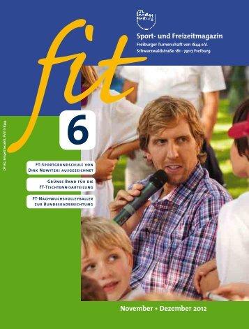 FIT Ausgabe 06/2012 - Freiburger Turnerschaft 1844 e.V.