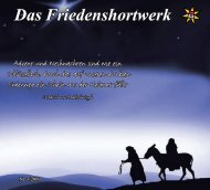 Friedenshort 3/2009 - Evangelische Jugendhilfe Friedenshort