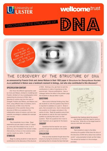 1 DNA discovery
