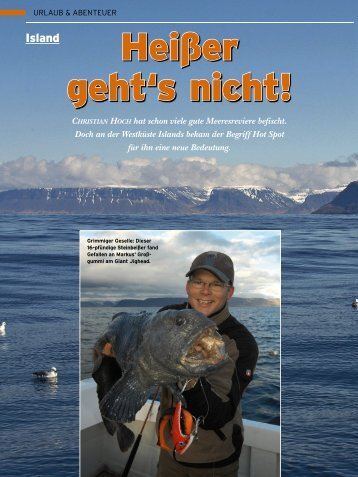 Reisebericht - Fishermen Travel Club