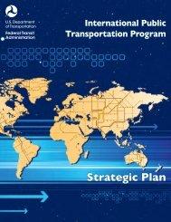 Strategic Plan - Federal Transit Administration - U.S. Department of ...
