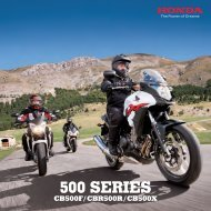 CB500X (PDF, 3.9 MB) - Honda