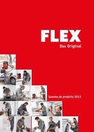Gamme de produits 2013 - FLEX