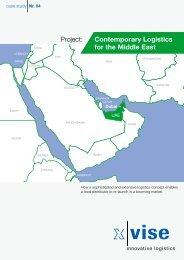 Project: Contemporary Logistics for the Middle East