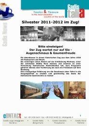 Silvester 2011-2012 im Zug!