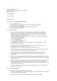 Satzung - Freinet-Kooperative eV
