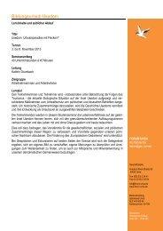 Programm - Bildungsurlaub Usedom November 2013 - Forum Unna
