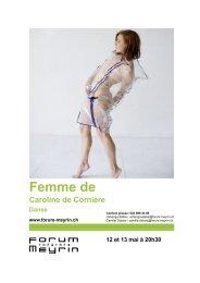 Femme de - Forum-Meyrin