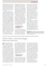 Weiße Kittel, Schwarze Magie - Forschung Frankfurt - Goethe ...