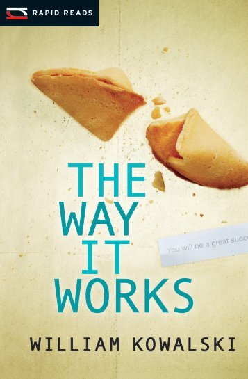THE WAY IT WORKS - Frontier College New Readers Bookstore