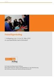 Freiwi - Jugend und freiwillige Dienste