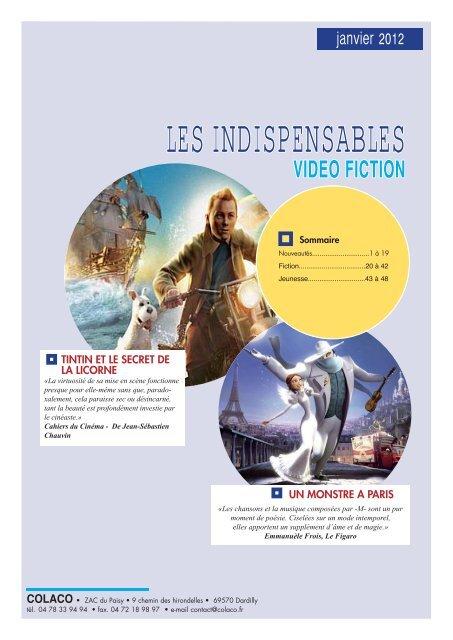 indisp fiction janvier 2012.indd - Colaco