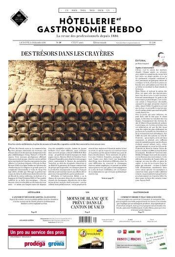 des trésors dans les crayères - Hotellerie et Gastronomie Verlag