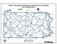 Maps 2-5 - Pennsylvania Fish and Boat Commission