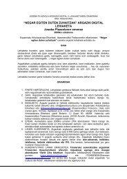 Oinarriak - Oiartzun