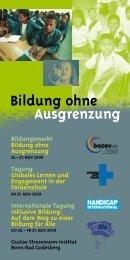 Bildung ohne Ausgrenzung - frankfurt-handicap.de