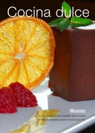 Cocina dulce - Gador SA