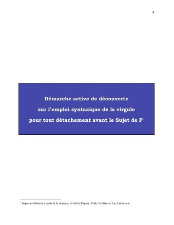 Document PDF - Faculté des sciences de l'éducation - Université ...