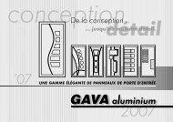 GAVAaluminium_2007 komplet.indd - GAVA plast