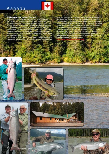 Kanada - Fishermen Travel Club