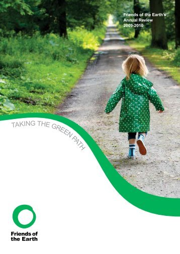 Friends of the Earth's Annual Review 2009-2010