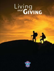 Living and Giving - Connecticut Yankee Council