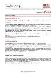 Infobrief 5-2010 - BFAS