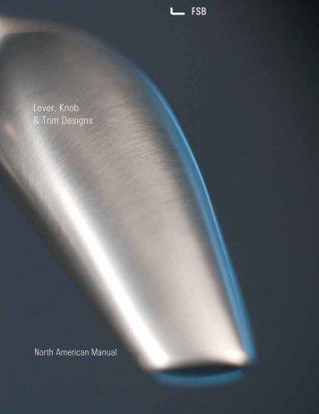 Lever, Knob & Trim Designs PDF, 2.5 mb - FSB