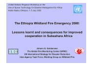 The Ethiopia Wildland Fire Emergency 2000: Lessons learnt and ...