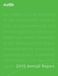 Our mission is to be responsive to the communities we serve with a ...