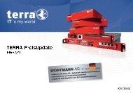 Preisliste Terra Firewall - easybit.ch