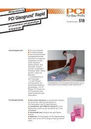 PCI Gisogrun Gisogrund ® Rapid - Fliesen Lerche