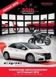 Januari 2012 - Honda