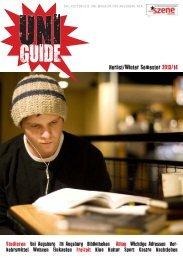 UNI-Guide Neue Szene Augsburg 2013