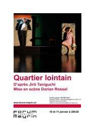 Quartier lointain.pdf - Forum-Meyrin