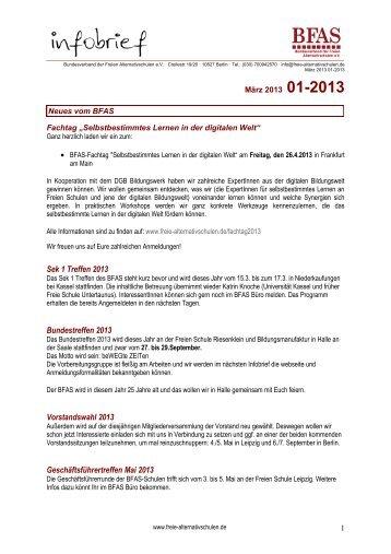 Infobrief 1-2013 - BFAS
