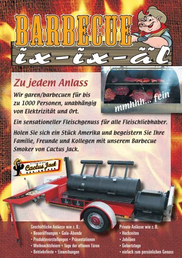 Flyer Barbecue
